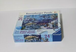 Ravensburger Super Sized Floor Puzzle  24 Piece Sea Life  3X2 Feet