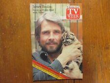 Oct 9-1983 Philadelphia Inquirer TV Mag(JAMES BROLIN/HOTEL/PETE ROSE/BETTE DAVIS