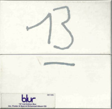 Blur - 13-Limited Edition  - NUMBERED CD ALBUM BOX SET + POSTER