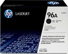 HP 96A Cartridge For LASERJET 2100 2200 EXPIRED SEALED IN BOX w HOLOGRAM C4096A