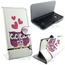Custodia booklet GUFI e CUORI per HTC One M9 flip cover STAND case portafoglio