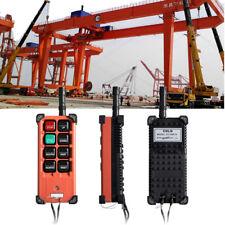 Transmitter+Receiver 8 Keys Hoist Crane Radio Industrial Wireless Remote Control