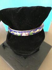 Authentic vintage Japanese multicolored celluloid bakelite Geisha bracelets (4)