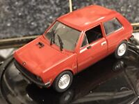 Yugo Zastava 45a  1.43 China Diecast And Plastic Red Mint Unboxed