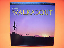 ⭐️ Vintage WALKABOUT Laserdisc Nicholas Roeg CRITERION LD Commentary1971  ⭐️