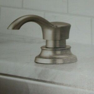 Delta Faucet Kitchen Soap Dispenser Kitchen Sinks Brushed Nickel NEW