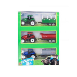 Country LifeToys Tractor Trailor 3 Pack