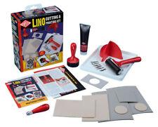 Essdee Lino coupant & Printing Kit 23 pieces set-Créer TIMBRES & Imprimés
