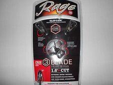 "@NEW@ Rage Kore 3 Blade 100 Grain 1.6"" Cut Expandable Broadheads! #39300"