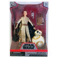 Disney Star Wars Elite Series Rey And BB-8 Die Cast Action Figure New Sealed