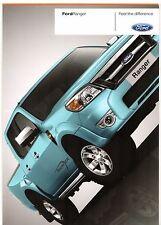 FORD RANGER PICK-UP 2009-11 UK Opuscolo Vendite sul mercato XL XLT THUNDER Wildtrak