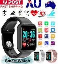Bluetooth Smart Watch Waterproof Heart Rate Fitness Bracelet For iPhone Samsung