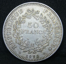 50 Francs Hercule 1976 Argent 900