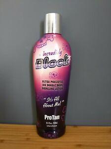 ProTan Incredibly Black Ultra Powerful Double Dark Cream Lotion 250ml
