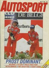 Autosport May 21st 1987 *Belgian Grand Prix*