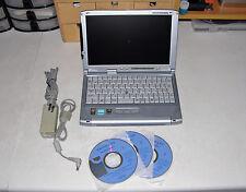 FUJITSU LIFEBOOK FMV LOOX T93C CRUSOE TM5800 933MHz 512MB RAM 40GB HD DVD WIFI