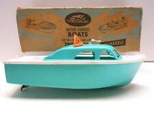 1958 Fleetline Viking Cabin Cruser In Board Battery Op Motor & Box. A+ Works.Nr