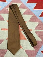 Dolce & Gabbana Brown Silk Tie  Made in Italy Classic