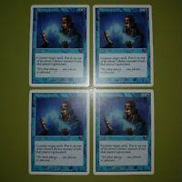 Memory Lapse x4 Seventh Edition 7th 4x Playset Magic the Gathering MTG