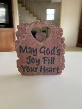 May God's Joy Fill Your Heart Standing Plaque