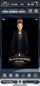 Topps Star Wars Digital Card Trader Galactic Champions Padme Amidala Insert