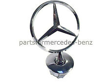 Genuine Mercedes C Class 2008-On, E Class/S Class 2006-On Bonnet Logo Star