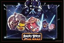 Star Wars Cardinal Super 3D Puzzle Angry Birds 150 Pieces Rovio With Box