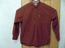 Columbia / Men's Casual Shirt / Long Sleeve L / Red