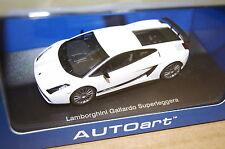 Lamborghini Gallardo Superleggera weiß 1:43 AUTOart neu & OVP 54615