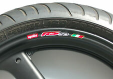 APRILIA RS50 WHEEL RIM STICKERS - MANY COLOURS rs 50 r