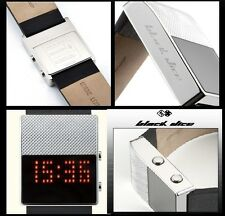 BLACK DICE MEN'S WITHOUT EXPRESSION MIRROR LED WATCH BD-056-04