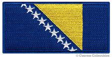 BOSNIA HERZEGOVINA FLAG embroidered iron-on PATCH BOSNIAN EMBLEM Yugoslavia
