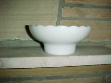 E.O.Brody Vintage Milk Glass Compote/Candy/Planter,EO Brody.M2000 Glassware