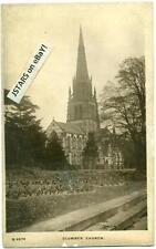 c. 1910s CLUMBER PARK, NOTTINGHAMSHIRE, CHURCH OF ST. MARY POSTCARD RPPC