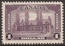 Canada MNH VF Sc# 245 - Issue Jun 15, 1938 - $1 Chateau de Ramezay (ES00215)