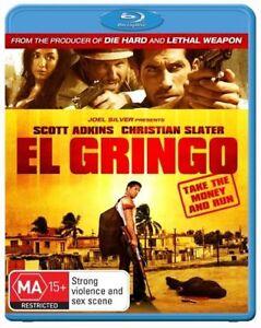 BLU RAY EL GRINGO 2012 CHRISTIAN SLATER  BRAND NEW UNSEALED REGION B FAST POST
