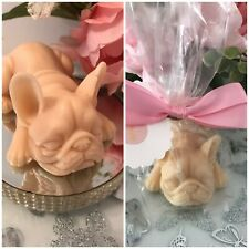 French Bulldog shaped soap - designer inspired fragrances - 120g