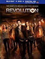 Revolution: The Complete Second Season (Blu-ray/DVD, 2014, 9-Disc Set,...