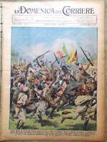 La Domenica del Corriere 10 Gennaio 1937 Etiopia Andolfato Sardegna Scozia Museo