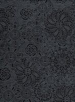 """SHIPS FOLDED Vinyl faux leather Caviar Sphere Embossed upholstery fabric BTY 55"""""""