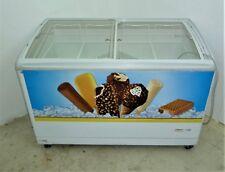 125cm Gefriertruhe AHT RIO S -21°C Tiefkühltruhe Glasschiebedeckel Supermarkt