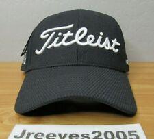 NWT Titleist Tour Elite Hat Sz M/L 100% Authentic Black/White