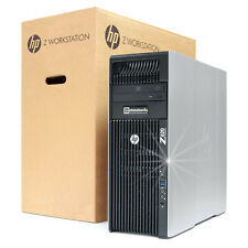 HP Z620 Workstation Intel XEON E5-1650V2 32GB RAM NVIDIA QUADRO 4000 1TB HDD W7