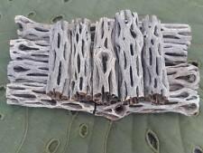 "4 Pieces ""3"" INCH  Cholla Wood Cactus Organic Fish Reptiles Crabs Birds"