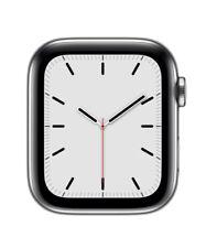 Apple Watch Series 4 Cellular 44mm Edelstahl Silber MTX02FD/A - TOP ZUSTAND