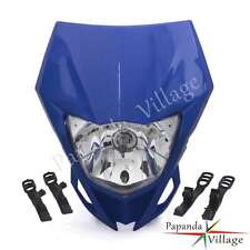 Enduro Headlight Head Light Fairing For Yamaha TTR230 WR250F/X WR450F YZ XT Blue