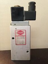 Herion Pneumatic Valve, 26-370-50, LOT OF 2  **