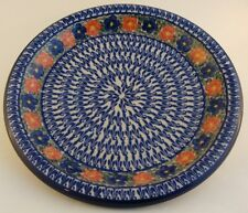 "Polish Pottery 11"" Plate Boleslawiec Stoneware, Pattern P6200A, Cer-Maz"