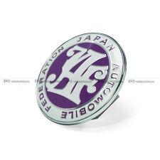 Universal Japan Automotive Federation Emblem Front Grill Badge JAF JDM Purple