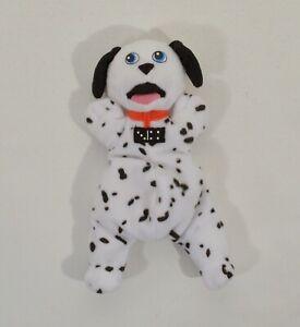 "RARE 2001 Domino 6"" McDonald's EUROPE Plush Beanie Figure 101 102 Dalmatians"